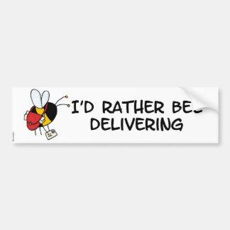 worker bee - postal worker bumper sticker