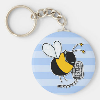 worker bee - sales keychain