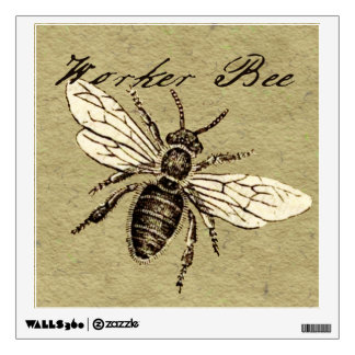 Worker Bee Wall Decal