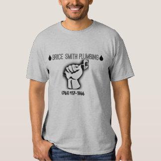 Worker Hand Plumbing T-shirt
