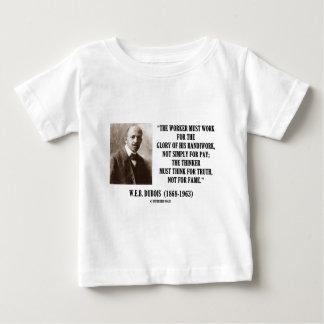 Worker Must Work For Handiwork Thinker Truth Quote Tshirt