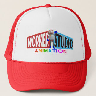 Worker Studio Animation Trucker Cap