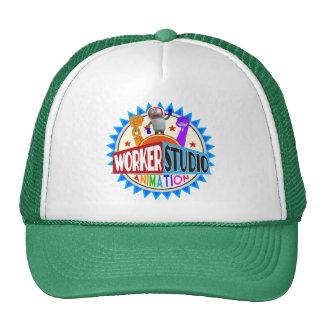 Worker Studio Animation Trucker Cap Trucker Hat