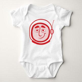 Worker Studio's COSMO Baby in Red Baby Bodysuit