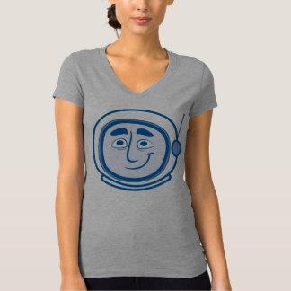 Worker Studio's COSMO V-neck in Blue for Women T-shirt