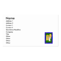 Worker & windows business card templates