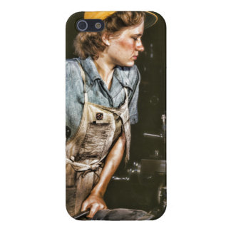 Worker woman feminist feminism case for iPhone SE/5/5s