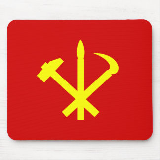 Workers'27 Party Of Korea, Colombia Political Mouse Pad