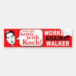 Workers Against Walker Bumper Stickers