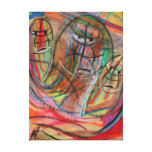 workers by rafi talby stretched canvas prints