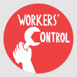 Workers' Control Sticker