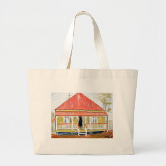 Workers Cottage Jumbo Tote Bag