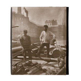 Workers on the 'Silent Highway', from 'Street Life iPad Case