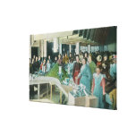 Workers Packing Seeded Raisins at Plant Gallery Wrapped Canvas