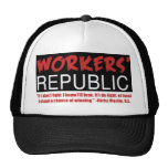Workers Republic, If I don't fight, I know I'll... Mesh Hats