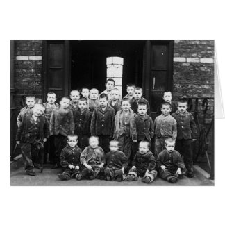 Workhouse Children Greeting Card
