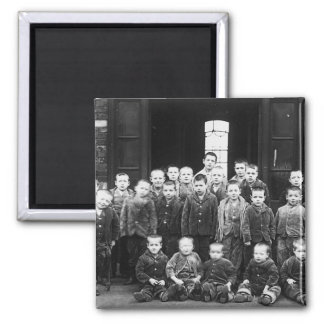 Workhouse Children 2 Inch Square Magnet