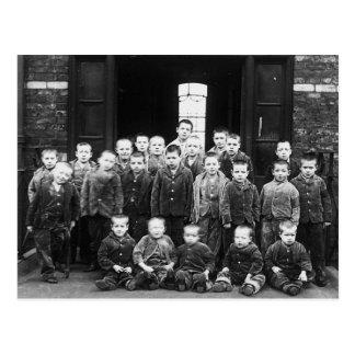 Workhouse Children Postcard