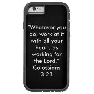 """Workin for the Lord"" Iphone 6/6S Cell Phone Case"