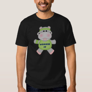 Workin It Hippo T-shirt