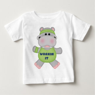 Workin It Hippo T Shirt