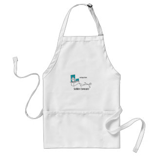 Working at Home Adult Apron