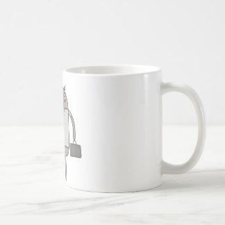 Working Bear Classic White Coffee Mug