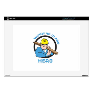 "WORKING CLASS HERO DECAL FOR 15"" LAPTOP"