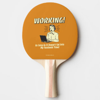 Working: Cut into Facebook Time Ping Pong Paddle