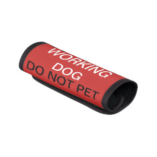 Working dog do not pet service dog leash wrap