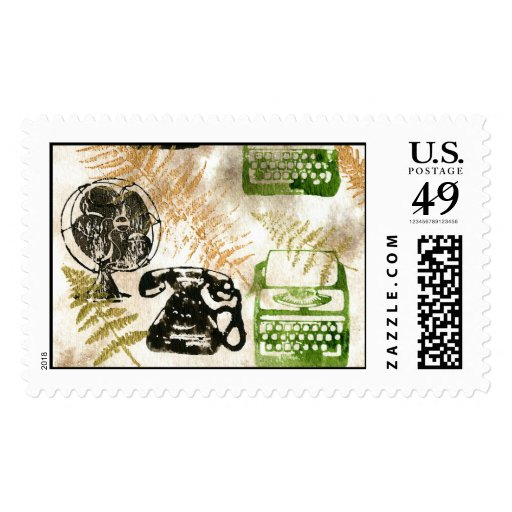 Working Fall Stamp