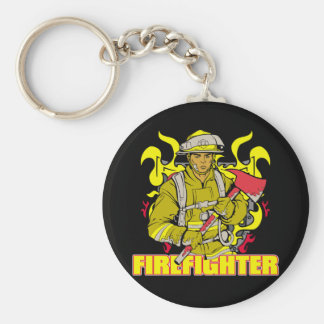 Working Firefighter Key Chain