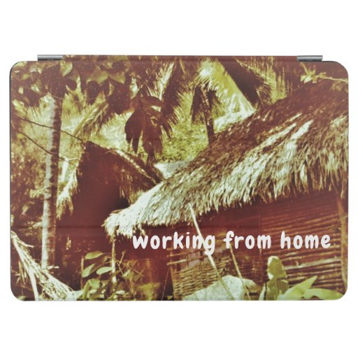 """""""Working from Home"""" iPad Smart Cover"""