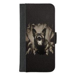 Wallet Case with German Shepherd Phone Cases design