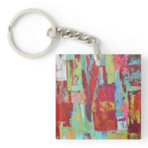 Working Girl Keychain