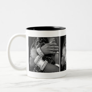 Working Hands Two-Tone Coffee Mug