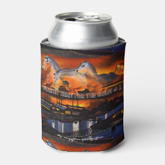 """""""Working Hard For My Money-#2"""" Can Cooler"""