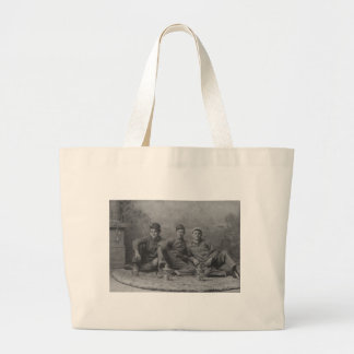 Working Hard for the Railroad Tote Bag