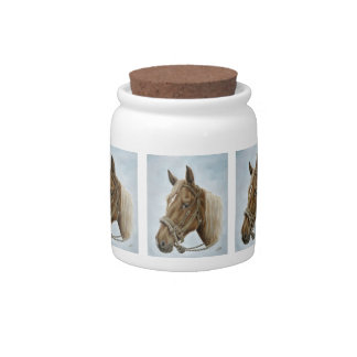 Working Horse Candy Jar