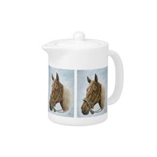 Working Horse Teapot