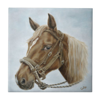 Working Horse Tile
