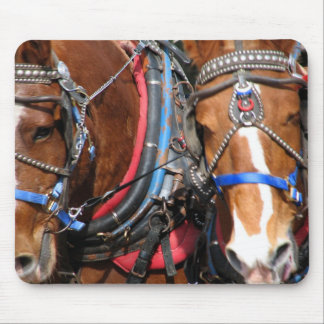 Working Horses Mouse Pad