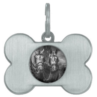 Working Horses Pet ID Tag