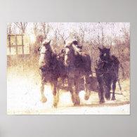 Working Horses Print
