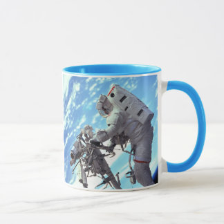 Working In Space - Incredible Earth View Mug