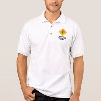 Working Is For People Who Don't Keep Bees Polo T-shirt