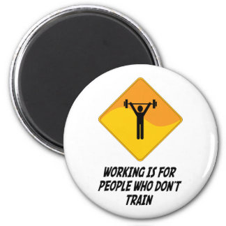 Working Is For People Who Don't Train Magnets