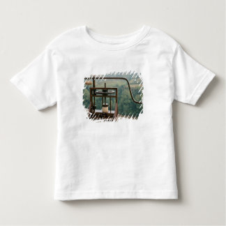 Working model of an olive press toddler t-shirt