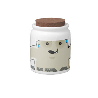 Working My Adipose Off - Exercise, Working Out Candy Jar