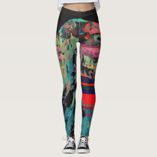 Working On A Dream Leggings